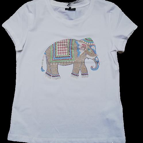 T-shirt met olifant LeoUgo