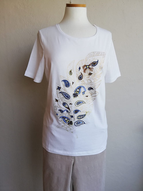 T-shirt ecru Bianca