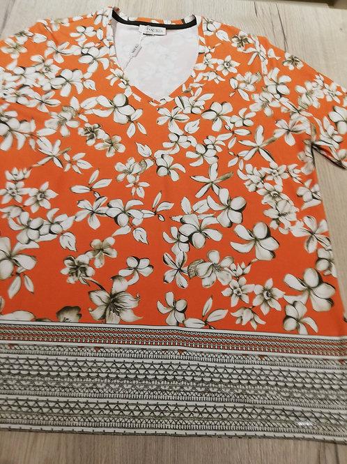 Sani Blu t-shirt oranje