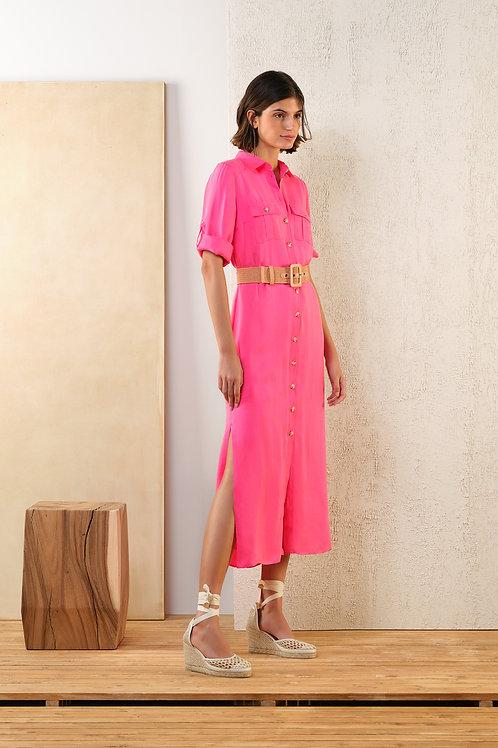 Lang roze kleedje van Atmos.