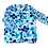 Thumbnail: Twinset felblauw bloem LeoUgo