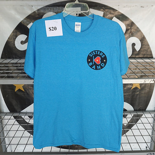 Small Logo T-Shirt (Blue, Grey and White)