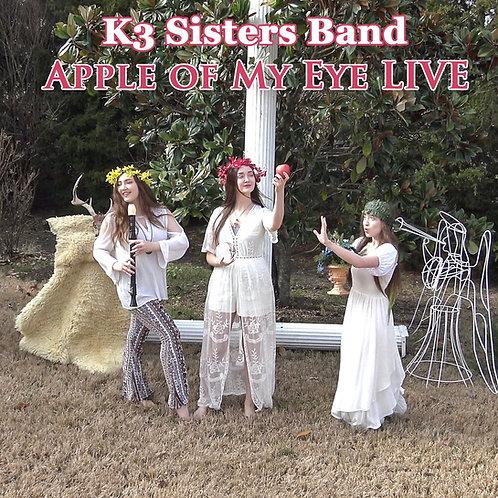 Apple of My Eye LIVE CD