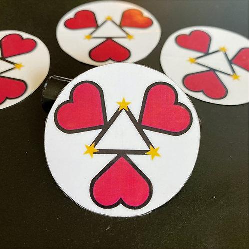 K3SB Power of 3 Sticker (2 inches)