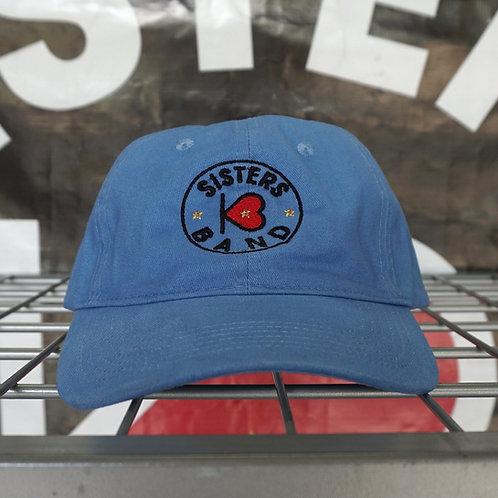 Embroidered Logo Hat (Pink & Blue)