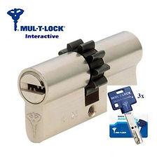 cylindre mul-t-lock interactive de haute sécurité