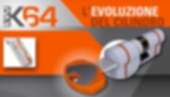 cylindre professionnel Securemme EVO K64 de haute sécurité