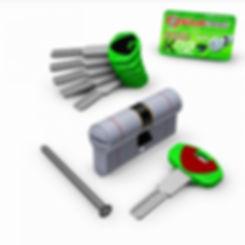 détail cylindre professionnel Securemme de haute sécurité