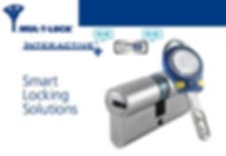 cylindre professionnel mul-t-lock interactive mt5+ cliq de haute sécurité