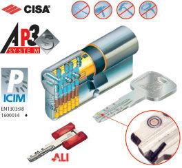 cylindre haute sécurité cisa ap3