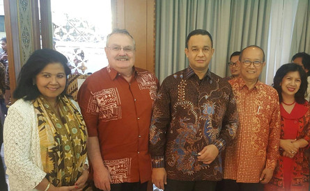 Commitee Members with Pak Anies Baswedan