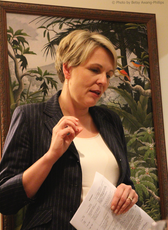 Tanya Plibersek addressing the AIA in 2015