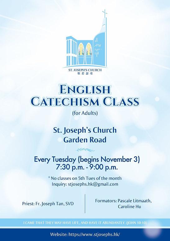 St Joseph Sunday Examiner_Cclass poster