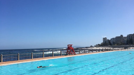 Seapoint pool at daytime.