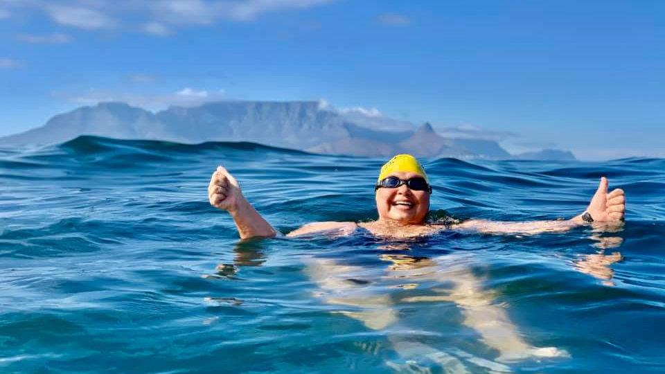 Swimmer Monene