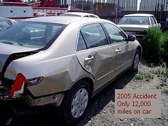 2005 Accident Auto Collision