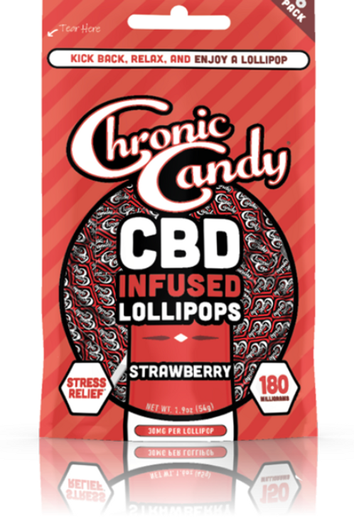Chronic Candy Lollipops