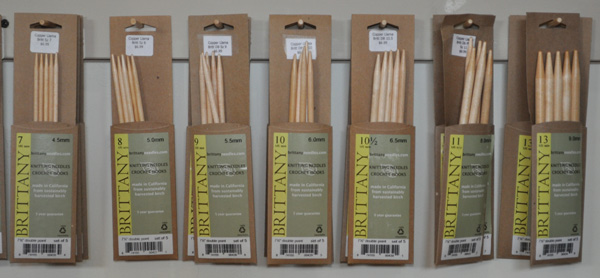 Wooden Needles