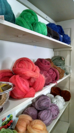 Rovings - Hand Dyed