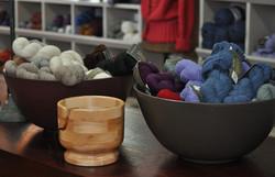 Wooden Yarn Bowl