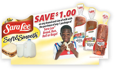 Sara Lee Point of Sale Header