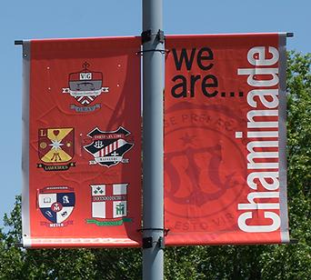 Chaminade Outdoor Banner