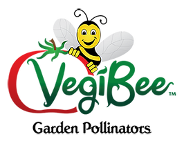 VegiBee Garden Pollinators Logo