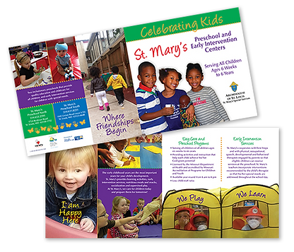 St. Mary's Preschool & Early Intervention Brochure