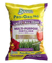 Green As It Gets Pro-Gro 365 Packaging