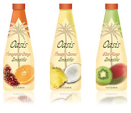 Oasis Smoothie Packaging