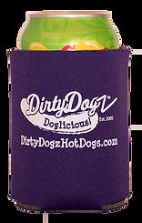 Dirty Dogz Hot Dogs Koosie