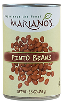 Mariano's Bean Label