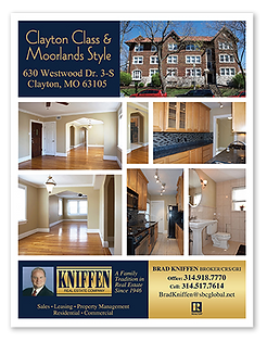 Kniffen Real Estate Property Ad Flyer