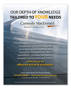 Carmody MacDonald Ad