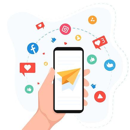 social-media-marketing-mobile-phone-conc