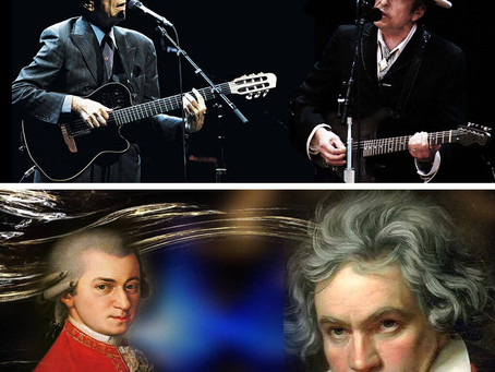 Were Bob Dylan and Leonard Cohen the Mozart and Beethoven of 20th-Century Folk Rock?
