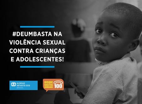 Campanha de conscientização ao abuso sexual infantil leva informações para metrô de SP