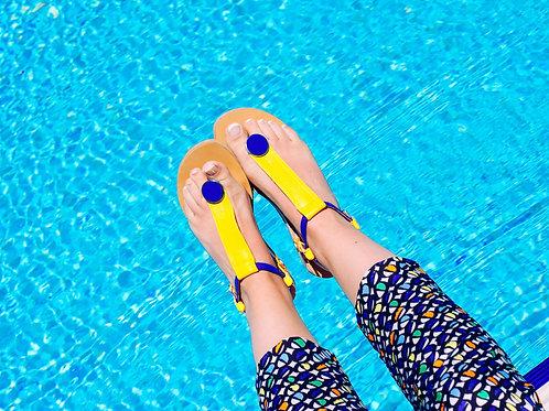Yellow - Blue mono set