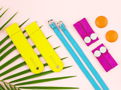 Create your upper set with changeable straps