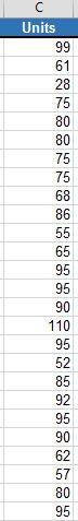 Microsoft Excel Array Formulas