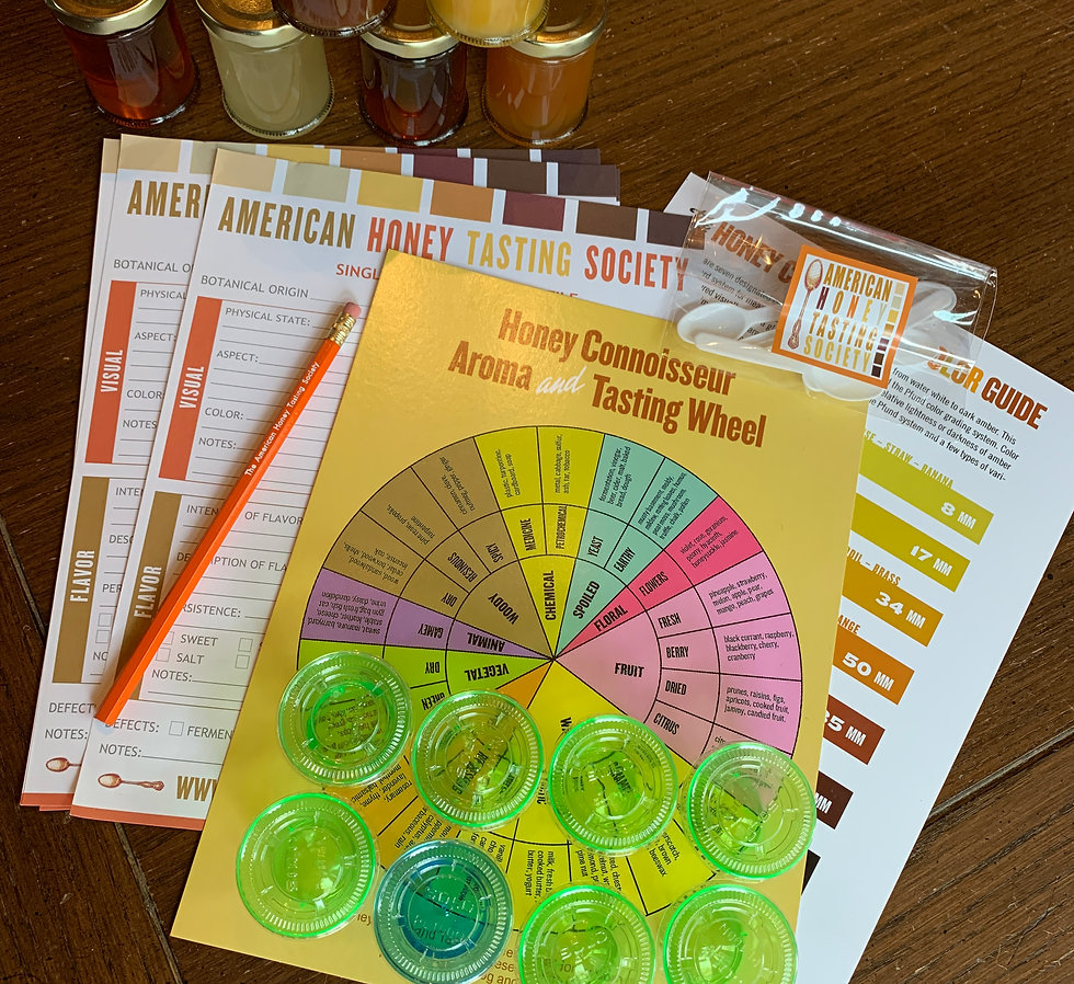 Basic Sensory Analysis of Honey Workshop Online