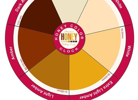 Honey Color Clock