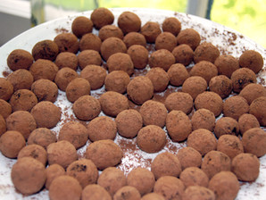Honey Struck Chocolate Truffles