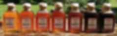 Red Bee Honey Apothecary Bottles