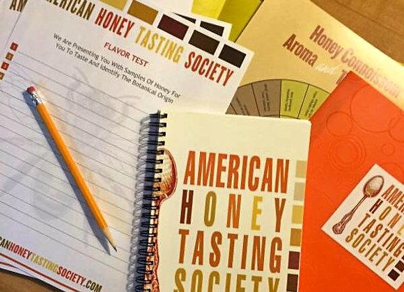 AHTS Honey Tasters Notebook