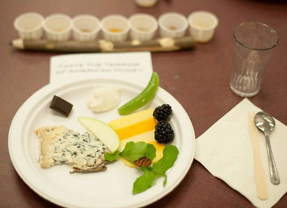 Staging a Honey + Cheese Tasting - 1 hour - TBA