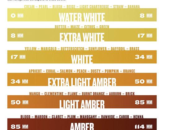 The Honey Connoisseur Color Guide