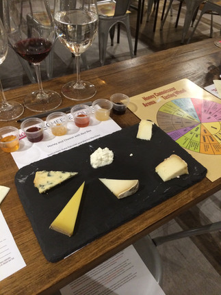 Staging a Honey + Cheese Tasting