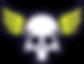 Transparent Skull Logo Vector.png