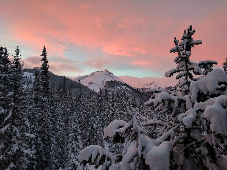 Morning Snowkiss